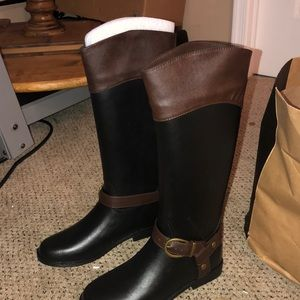 Banana Republic Ryder Boots (Size 7 Black)